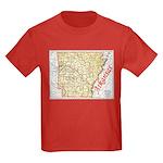 Arkansas Pride! Kids Dark T-Shirt