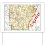 Arkansas Pride! Yard Sign