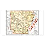 Arkansas Pride! Rectangle Sticker