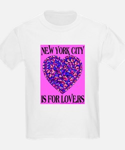 New York City Is For Lovers Kids T-Shirt