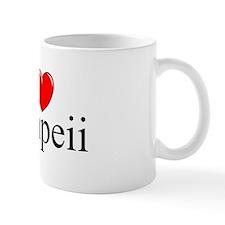 """I Love (Heart) Pompeii"" Mug"