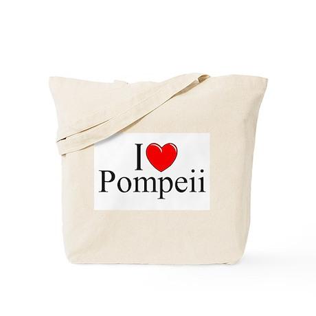 """I Love (Heart) Pompeii"" Tote Bag"
