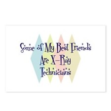 X-Ray Technicians Friends Postcards (Package of 8)