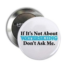 "Waterskiing 2.25"" Button (10 pack)"