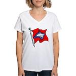 Arkansas Pride! Women's V-Neck T-Shirt