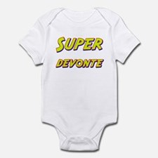 Super devonte Infant Bodysuit