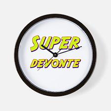 Super devonte Wall Clock