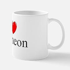 """I Love (Heart) Pantheon"" Mug"