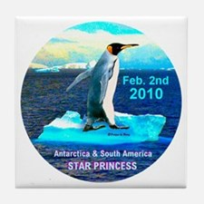 Star Antarctica S. America 2010- Tile Coaster