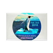 Star Antarctica S. America 2010- Rectangle Magnet