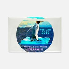 Star Antarctica S. America 2010- Rectangle Magnet