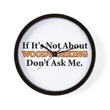 Woodworking Wall Clock