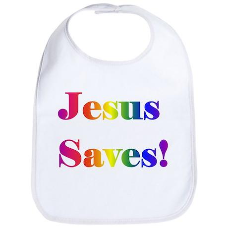 Jesus Saves Bib