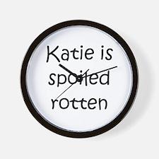 Unique Katie Wall Clock
