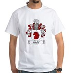 Tebaldi Family Crest White T-Shirt