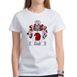 Tebaldi Family Crest Women's T-Shirt