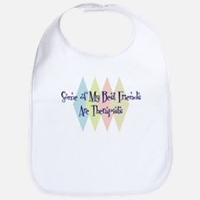 Therapists Friends Bib