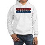 RWB w/Stars McCain/Palin Hooded Sweatshirt