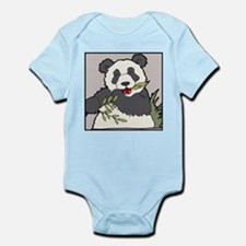 Panda with Bamboo Infant Creeper