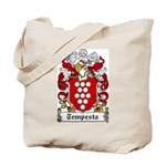 Tempesta Family Crest Tote Bag