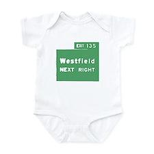 Exit 135 Westfield NJ GSP Infant Bodysuit
