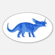 Styracosaurus Oval Decal