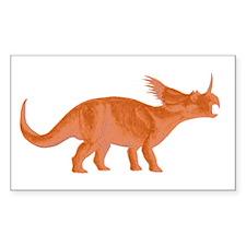 Styracosaurus Rectangle Decal