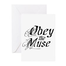 Obey the Muse Greeting Cards (Pk of 10)
