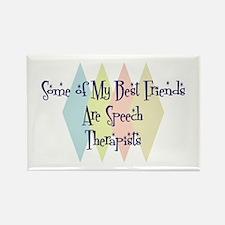 Speech Therapists Friends Rectangle Magnet (10 pac