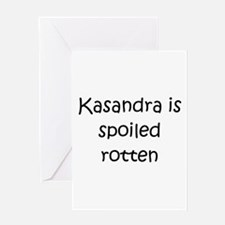 Kasandra Greeting Card