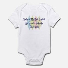 Speech-Language Pathologists Friends Infant Bodysu