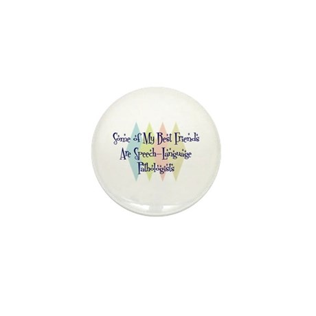 Speech-Language Pathologists Friends Mini Button (