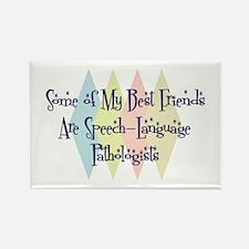 Speech-Language Pathologists Friends Rectangle Mag