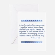 Arabian Proverb Greeting Cards (Pk of 10)