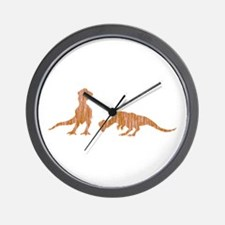 Pachycephalosaur Wall Clock