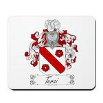 Terzi Family Crest Mousepad
