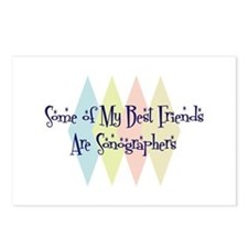 Sonographers Friends Postcards (Package of 8)