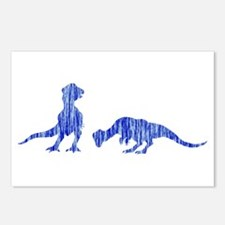 Pachycephalosaur Postcards (Package of 8)