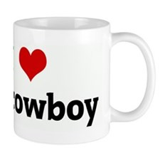 I Love my cowboy Mug