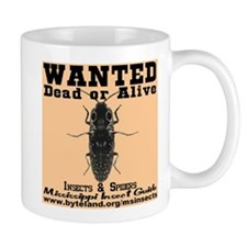 Mississippi Insect Guide Wanted Poster Mug