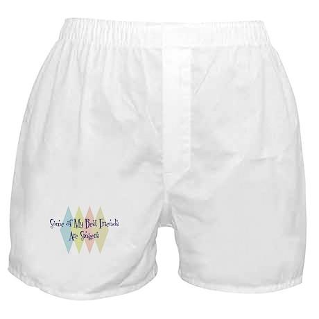 Singers Friends Boxer Shorts