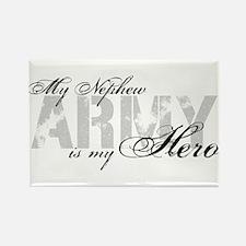 Nephew is my Hero ARMY Rectangle Magnet