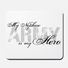 Nephew is my Hero ARMY Mousepad
