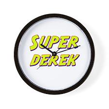 Super derek Wall Clock