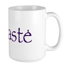 Namaste in Sacred Purple Mug
