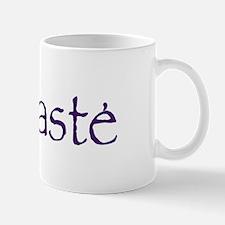 Namaste in Sacred Purple Mug