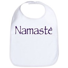 Namaste in Sacred Purple Bib