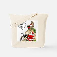 Santa's Gone Hawking Tote Bag