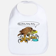Hawk Calling Kitty Bib