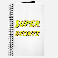 Super deonte Journal